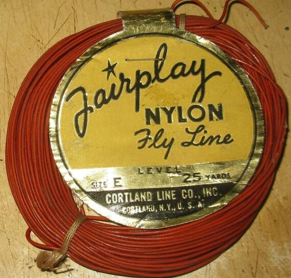Vintage Fly Line 56