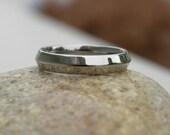 Titanium Ring or Wedding Band Knife Edge Polished