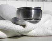 Titanium Ring or Wedding Band Brushed Finish WIDE Band
