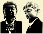 Buddha Mugshot Organic T-Shirt
