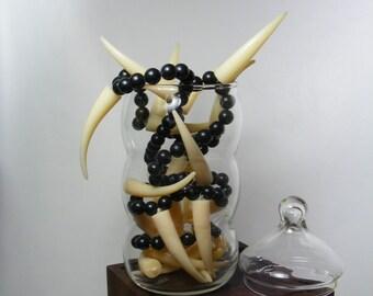 Curvy Vintage Apothecary Jar