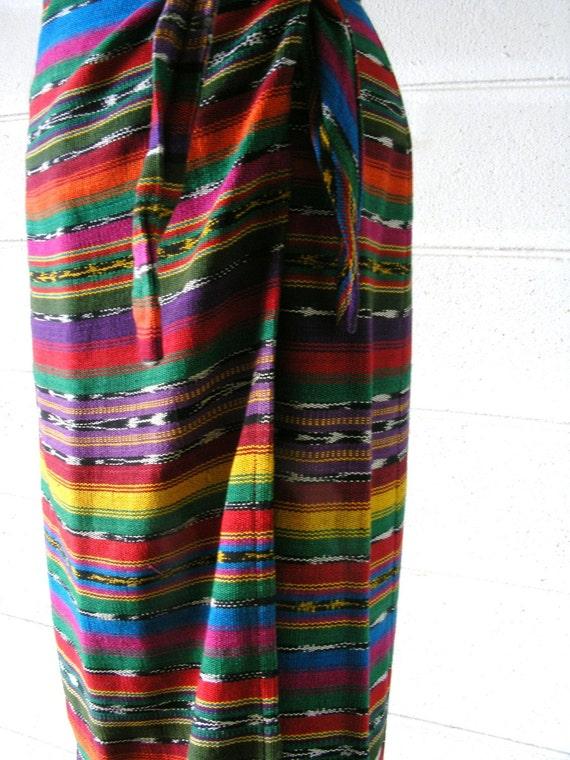 Ethnic Wrap Skirts