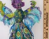 Ballerina a Fiber  Art Doll OOAK