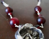 Reserved Listing for LUCINDEL Pomegranate Promise Necklace