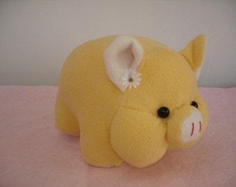 PIG Sewing pattern in Felt or Fleece