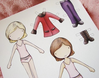 Print your own Paper Dolls (PDF)