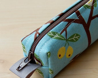Enchanted Forest Bitty Bag (petite pencil or makeup case)