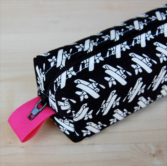 Flying High Sm CA Roll (makeup or pencil case)