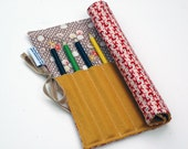 Tiny Deer Colored Pencil Roll