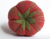 Heirloom Tomato Pin Cushion (Black Zebra)