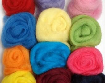 Felting Wool Artist's Palette #3