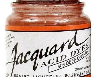 You Choose Six Jacquard Acid Dyes 1/2 Oz. Jars - Free Shipping
