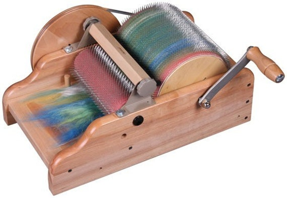 Ashford Drum Carder with Packer Brush - Ships Free
