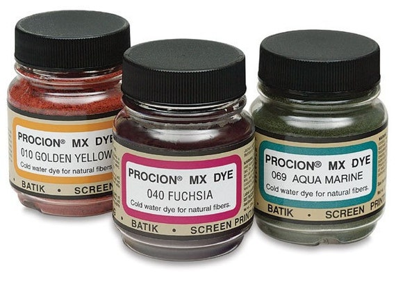 All Forty Colors of Jacquard Procion MX Dye 2/3 Oz. Jars -  Free Shipping