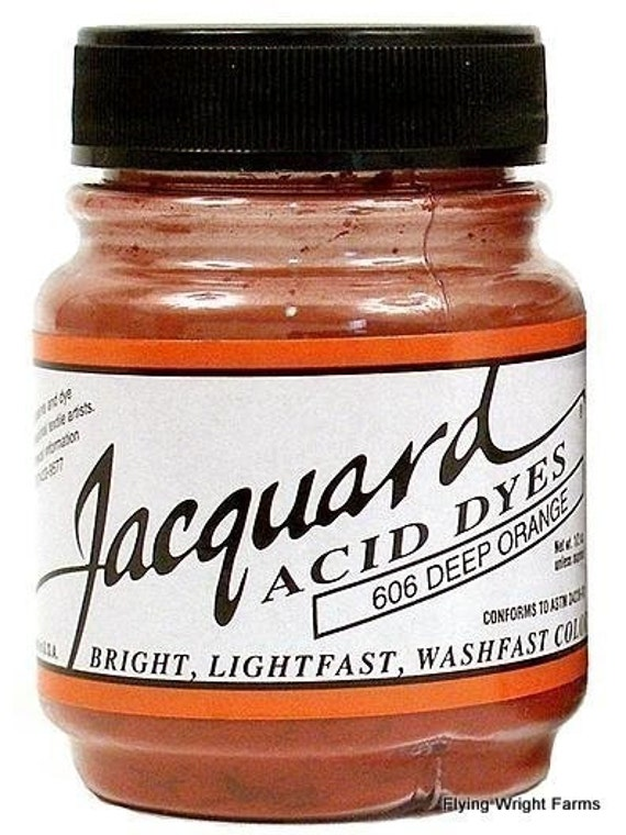 All Forty Colors of Jacquard Acid Dyes 1/2 Oz. Jars -  Free Shipping