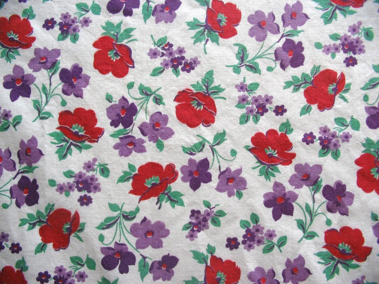 poppy print fabric - photo #10