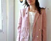 pretty in pink blazer long 80s\/90s m\/l