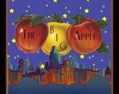 The Big Apple New York Refrigerator Magnet - FREE US SHIPPING