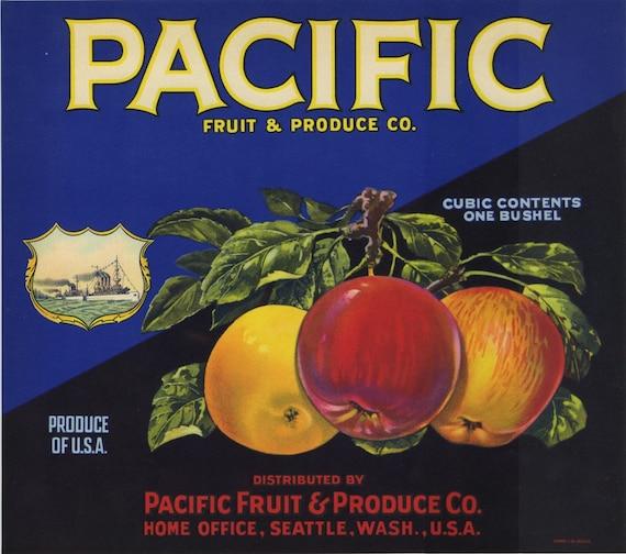 fruit labels washington