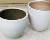 Pebble Pots Pair