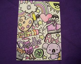 ACEO Card Original Art Card