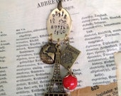 Paris in the Spring Time Pendant Charm