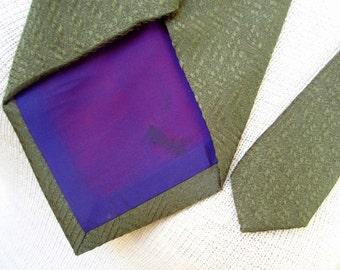 Silk Martini - a vintage Mignolo Maschi necktie