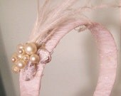 CLEARANCE-Bella lace and Pearl Headband CRBoggs Original