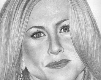 Jennifer Aniston Original drawing