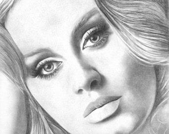 Adele original drawing