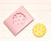 Cookie Mold/Mould for miniature food, jewelry, button, craft, sweet using Resin, Polymer clay, Air dry Clay, etc. 1,6 cm diameter