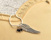 On Angels Wings Necklace