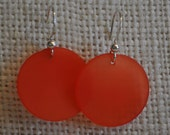 Necco Pomegranate Lalique Earrings
