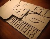 Football Scrapbook - Green Bay Packers Team Spirit - custom scrapbook chipboard album BLANK 6pg