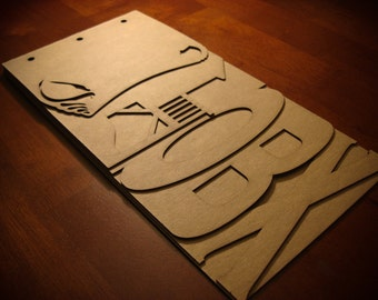Beach Scrapbook Chipboard - OBX Chipboard album - BLANK
