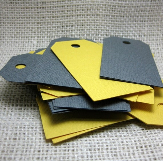 100 Tags - You Choose The Colors - perfect for wedding wish tree or escort cards