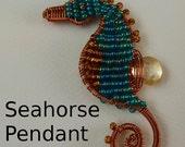 Seahorse Pendant Tutorial
