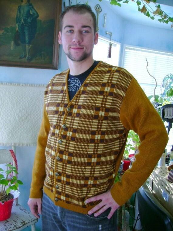 kaso knit vintage sweater wool XL