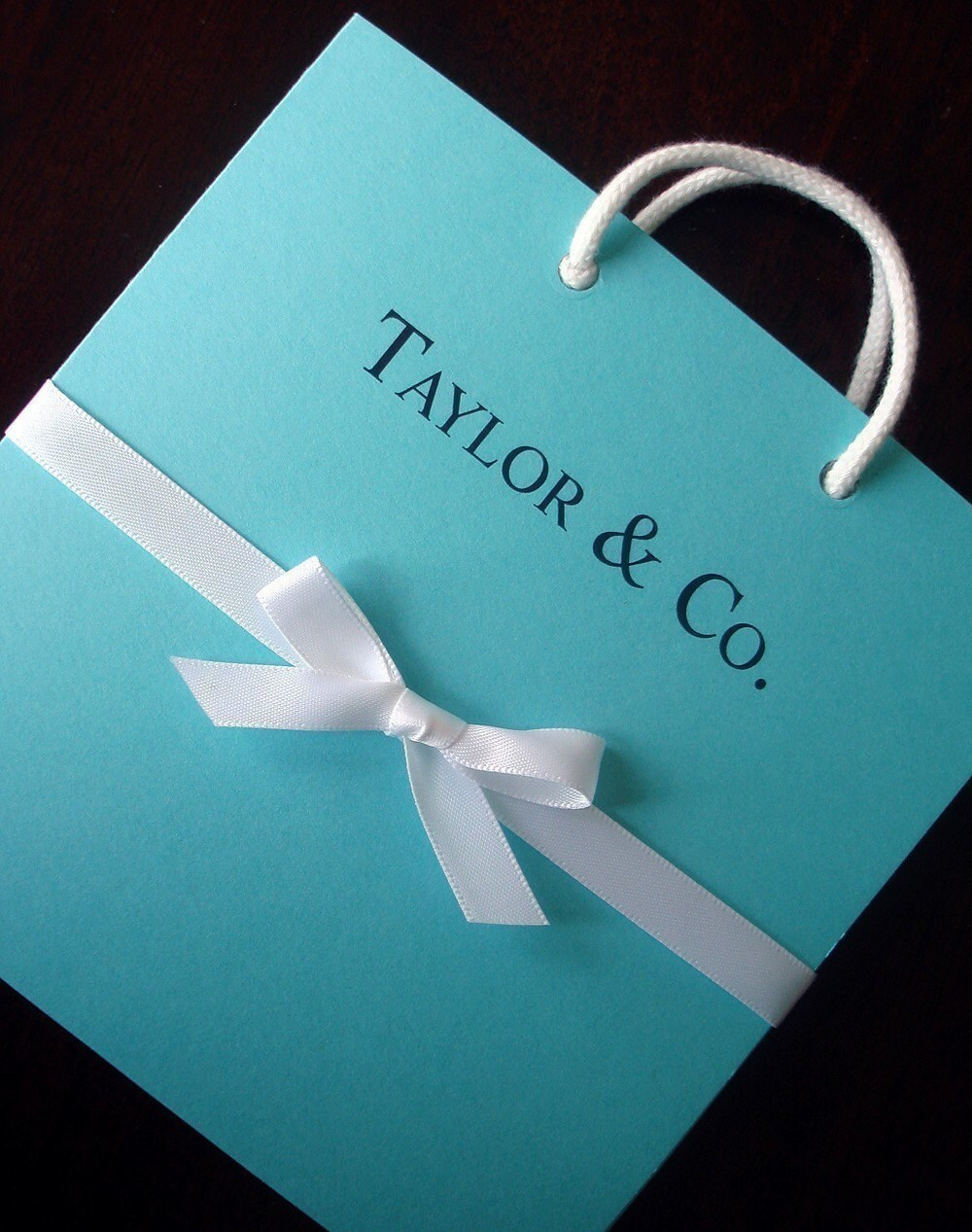 24 Tiffany And Company Inspired Favor Gift Bags For Lavinia