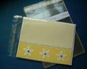 200 A2 - 4.6 x 5.75 Clear Resealable Cello Bag Plastic Envelopes Cellophane Bag