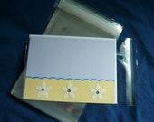50 A7 5.4 x 7.25 (for 5x7) Clear Resealable Cello Bag Plastic Envelopes Cellophane Bag