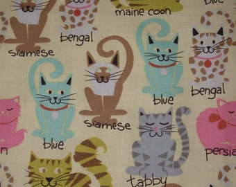 Catnip Activity Mat - Cartoon Breeds