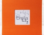 Modern Baby Memory Book (LUCY in Orange) New Reduced Pricing
