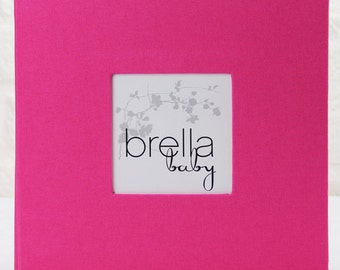Modern Baby Memory Book (LUCY in Pink) New Reduced Pricing