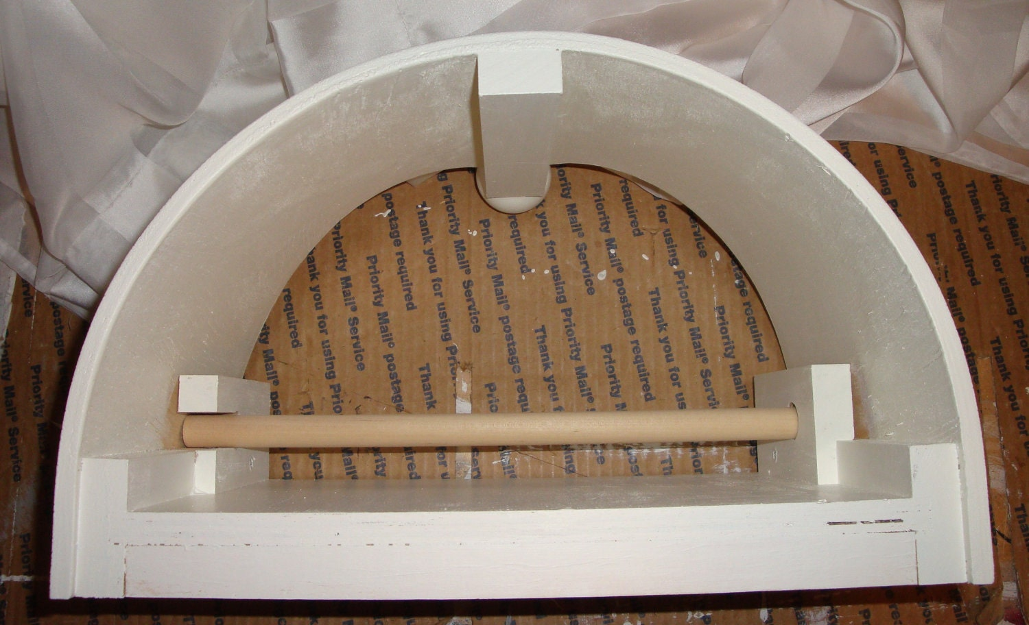 Half Round Bed Crown Valance Canopy For Nursery