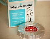 Vintage Walk A Matic Pedometer