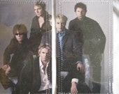 DURAN DURAN  CELEBRITY VINYL CHECKBOOK\/DAY PLANNER COVER