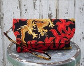Fire Breathing Dragon - Kitchy Clutch
