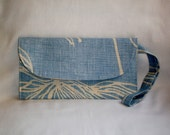 Cute, Kitchy UPCYLED Wristlet Clutch - ONE of a KIND