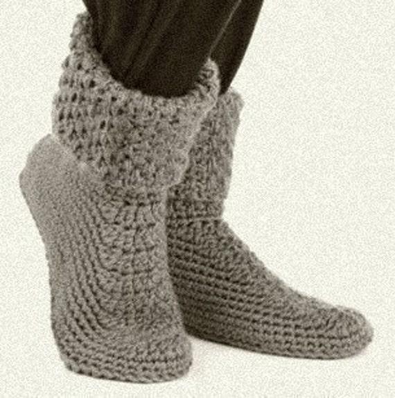 Boot Style Crochet Slipper Pattern Crochet Patterns Only